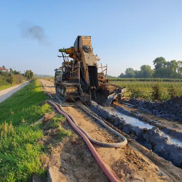 Budowa zbiorników retencyjnych w Nadleśnictwie Głogów