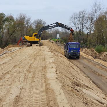 Budowa dwóch zbiorników retencyjnych w Leśnictwie Czerniawka i Tuchla